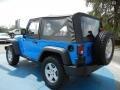 2011 Cosmos Blue Jeep Wrangler Rubicon 4x4  photo #3
