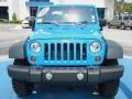 2011 Cosmos Blue Jeep Wrangler Rubicon 4x4  photo #8