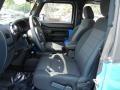 2011 Cosmos Blue Jeep Wrangler Rubicon 4x4  photo #13