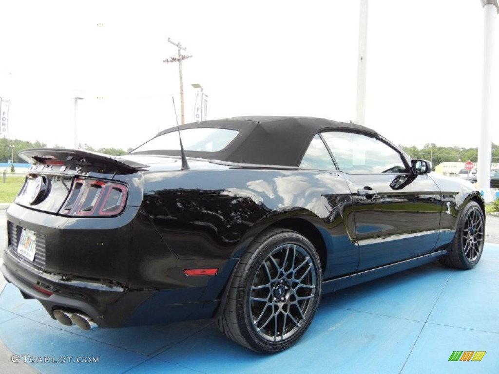 2013 Black Ford Mustang Shelby GT500 SVT Performance Package