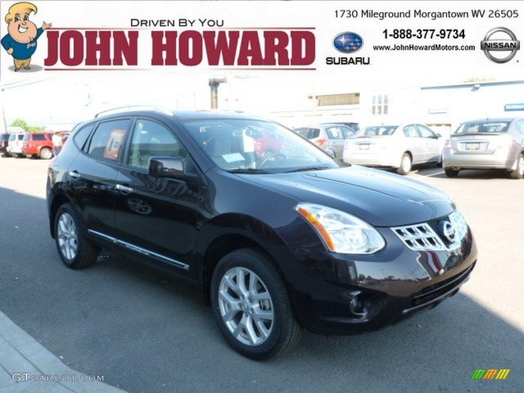 2012 black amethyst nissan rogue sl awd 65970864 gtcarlot black amethyst nissan rogue vanachro Image collections