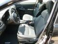 Black Interior Photo for 2012 Subaru Impreza #66042162
