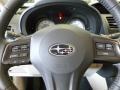 2012 Subaru Impreza Ivory Interior Steering Wheel Photo