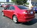2011 Red Candy Metallic Ford Fusion Sport  photo #5