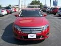 2011 Red Candy Metallic Ford Fusion Sport  photo #25