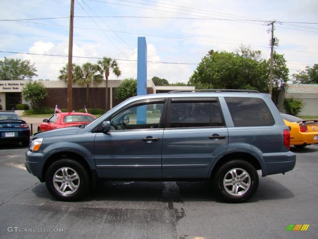 Steel Blue Metallic 2005 Honda Pilot Ex 4wd Exterior Photo 66054091 Gtcarlot Com