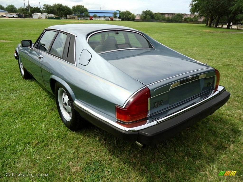 Steel blue metallic 1986 jaguar xj xjs coupe exterior for Jaguar xj exterior