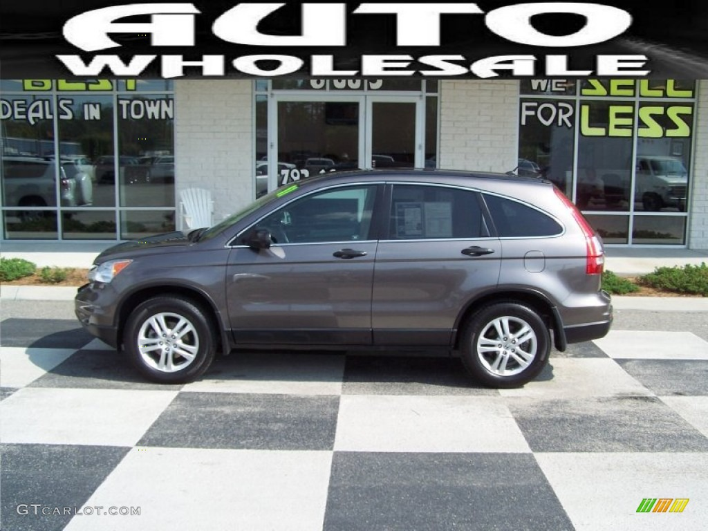 2011 CR-V EX - Urban Titanium Metallic / Ivory photo #1