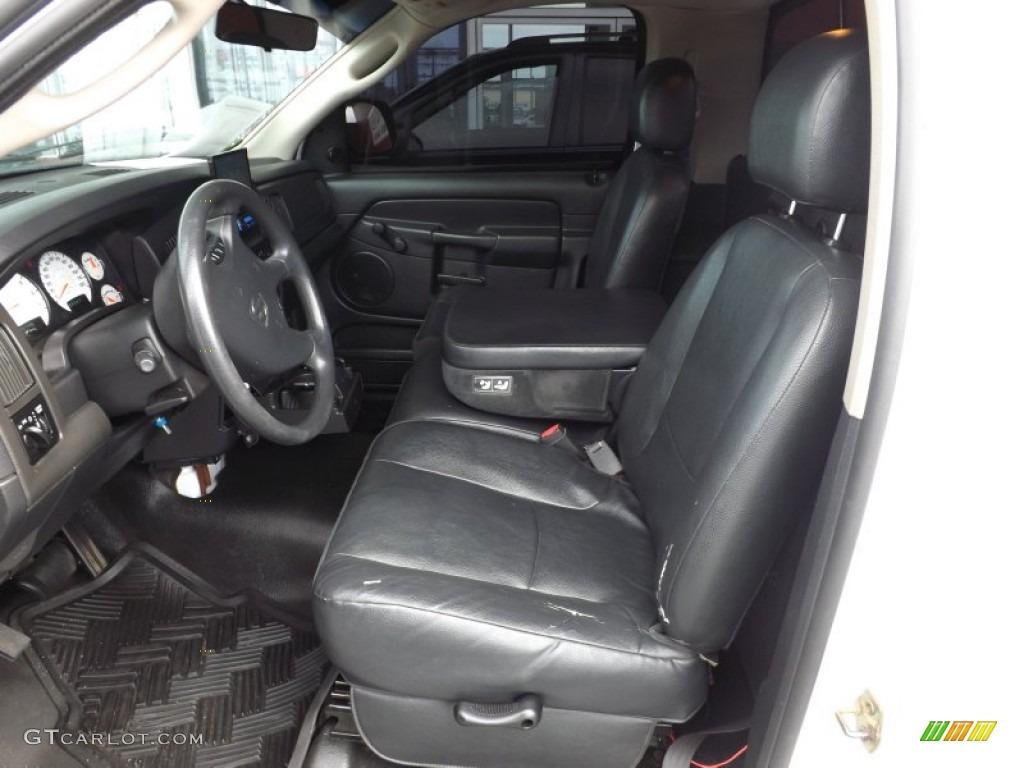 2002 Ram 1500 ST Regular Cab - Bright White / Dark Slate Gray photo #11