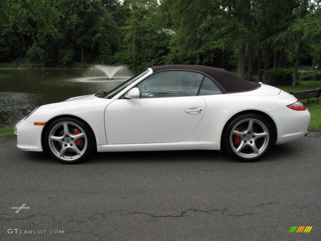 carrara white 2011 porsche 911 carrera s cabriolet exterior photo 66092886. Black Bedroom Furniture Sets. Home Design Ideas