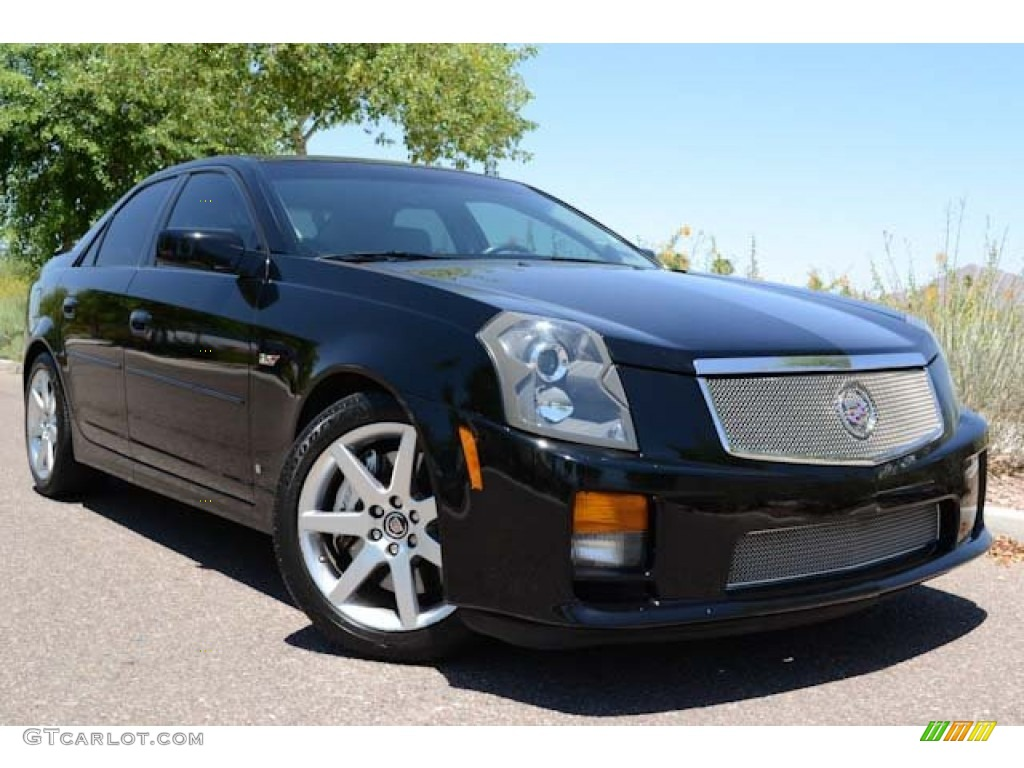 2007 Black Raven Cadillac Cts V Sedan 66079949