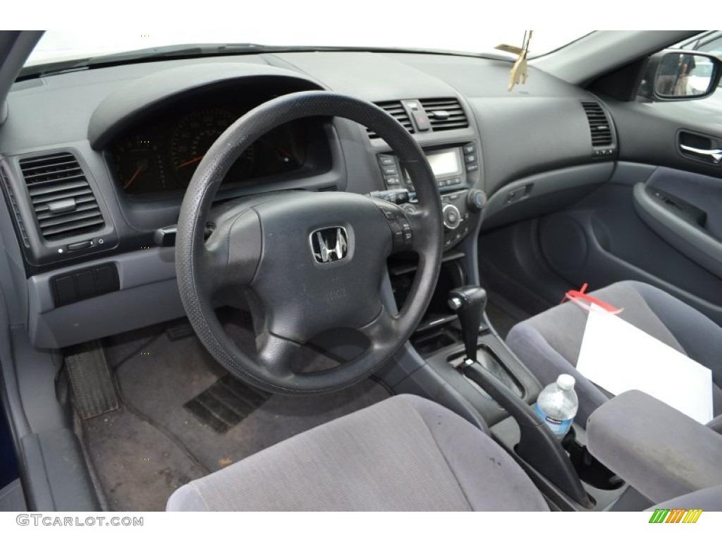 Lovely 2005 Honda Accord LX Sedan Gray Dashboard Photo #66098910