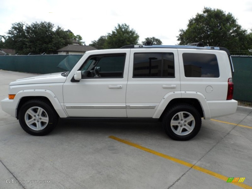 Stone white 2010 jeep commander limited exterior photo 66100575 gtcarlot com