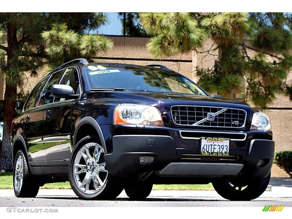 2006 magic blue metallic volvo xc90 v8 awd 66122754. Black Bedroom Furniture Sets. Home Design Ideas