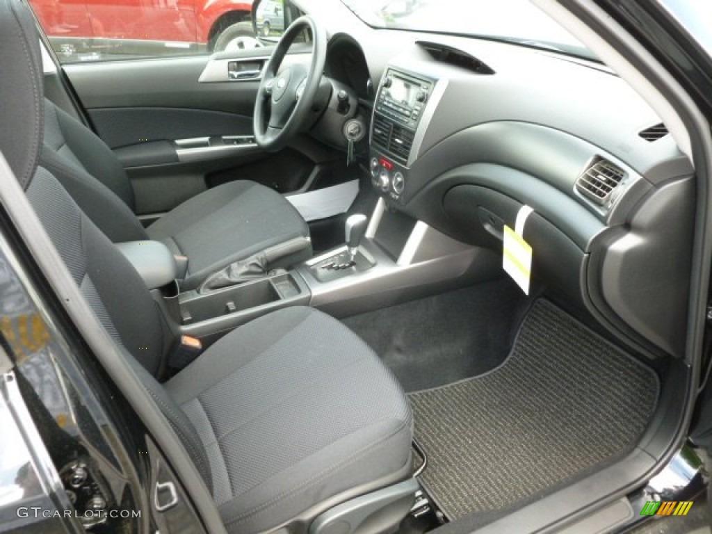 Black Interior 2012 Subaru Forester 2 5 X Premium Photo 66126908