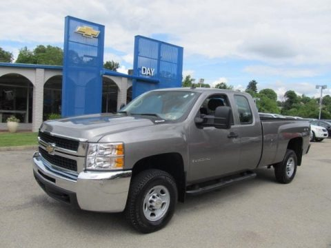 2008 chevrolet silverado 2500hd work truck extended cab 4x4 data info and specs. Black Bedroom Furniture Sets. Home Design Ideas