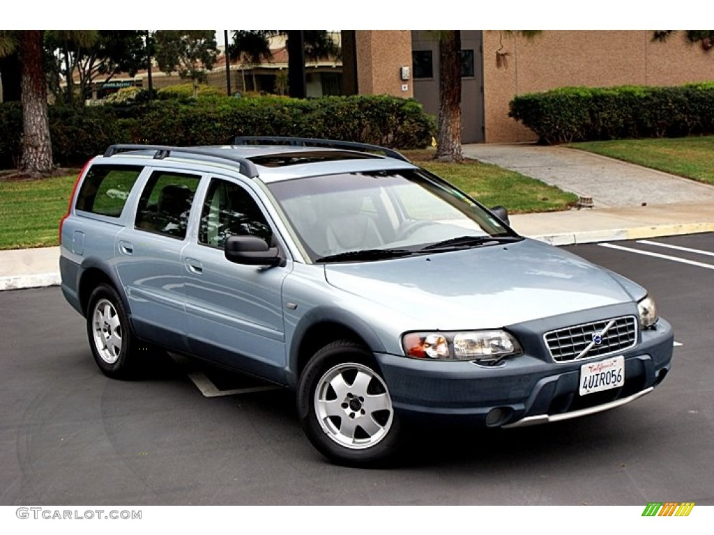 Polar Blue Metallic 2001 Volvo V70 XC AWD Exterior Photo #66129075 | GTCarLot.com