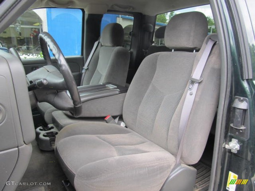 Dark Charcoal Interior 2006 Chevrolet Silverado 1500 Z71 Extended Cab 4x4 Photo #66129329