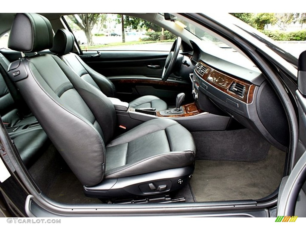 Exceptional Black Interior 2007 BMW 3 Series 328i Coupe Photo #66131246