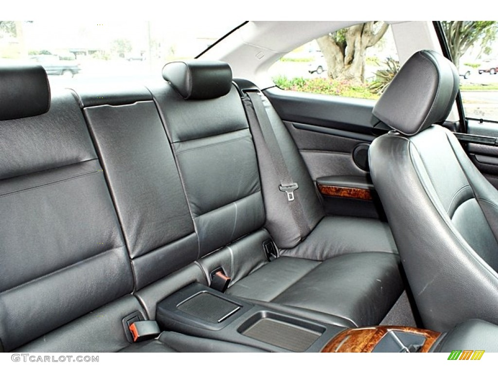 2007 BMW 3 Series 328i Coupe Rear Seat Photo 66131267