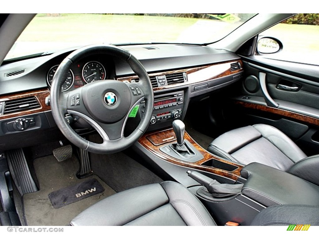 Attractive Black Interior 2007 BMW 3 Series 328i Coupe Photo #66131303 Pictures