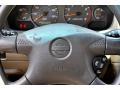 2002 Nissan Sentra Stone Interior Steering Wheel Photo