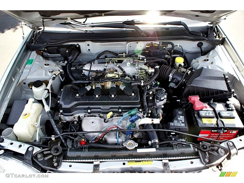 2008 Nissan Sentra Parts 2002 Nissan Sentra GXE 1.8 Liter DOHC 16V 4 Cylinder Engine Photo ...