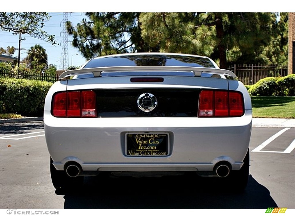 2007 Mustang GT Deluxe Coupe - Satin Silver Metallic / Light Graphite photo #1