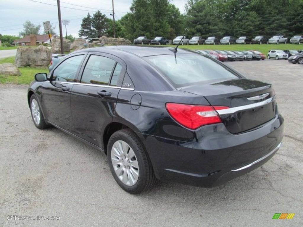 blackberry pearl coat 2012 chrysler 200 lx sedan exterior. Black Bedroom Furniture Sets. Home Design Ideas