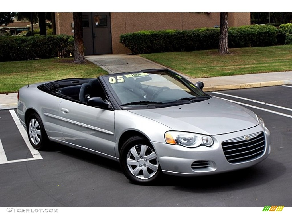 Brilliant Silver Metallic 2005 Chrysler Sebring Convertible Exterior Photo 66142736
