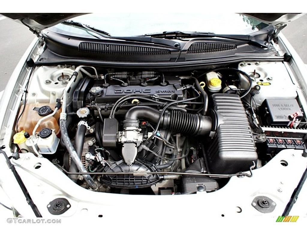 For 2005 Sebring Engine Real Wiring Diagram 05 Chrysler Convertible 2 4 Liter Dohc 16 Valve Cylinder Rh Gtcarlot Com