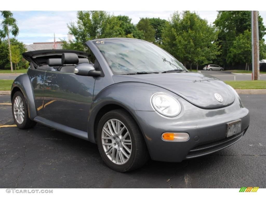 Platinum Grey Metallic 2004 Volkswagen New Beetle Gl