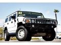 2003 White Hummer H2 SUV  photo #1