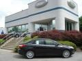 2012 Tuxedo Black Metallic Ford Focus SEL Sedan  photo #1