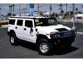 2003 White Hummer H2 SUV  photo #2