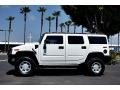 2003 White Hummer H2 SUV  photo #8