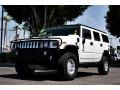 2003 White Hummer H2 SUV  photo #9
