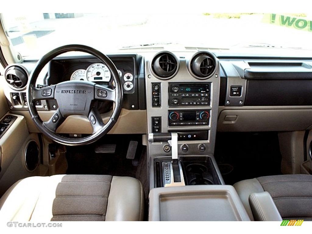 2003 Hummer H2 Suv Wheat Dashboard Photo 66145760