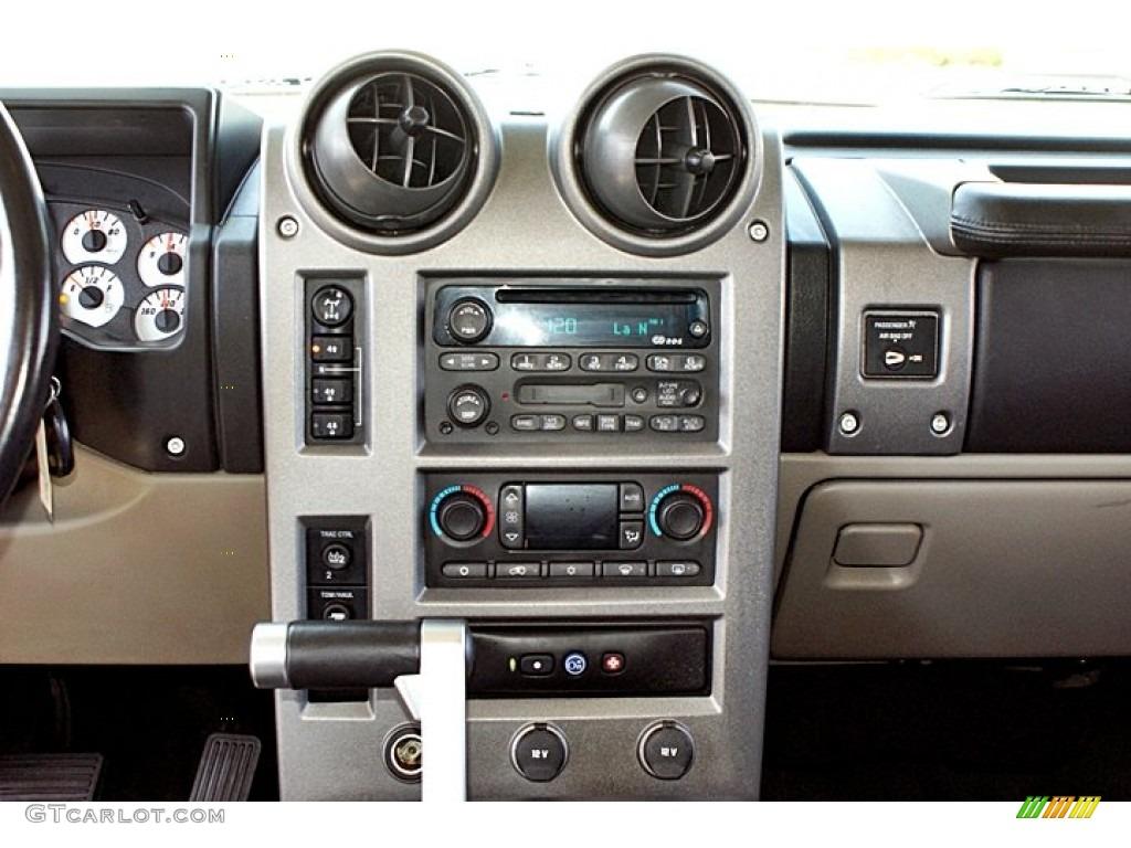 2003 Hummer H2 Suv Controls Photo 66145793