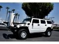 2003 White Hummer H2 SUV  photo #49