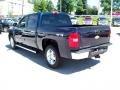 2012 Imperial Blue Metallic Chevrolet Silverado 1500 LTZ Crew Cab 4x4  photo #2