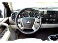 2007 Chevrolet Silverado 1500 Light Titanium/Ebony Black Interior Steering Wheel Photo