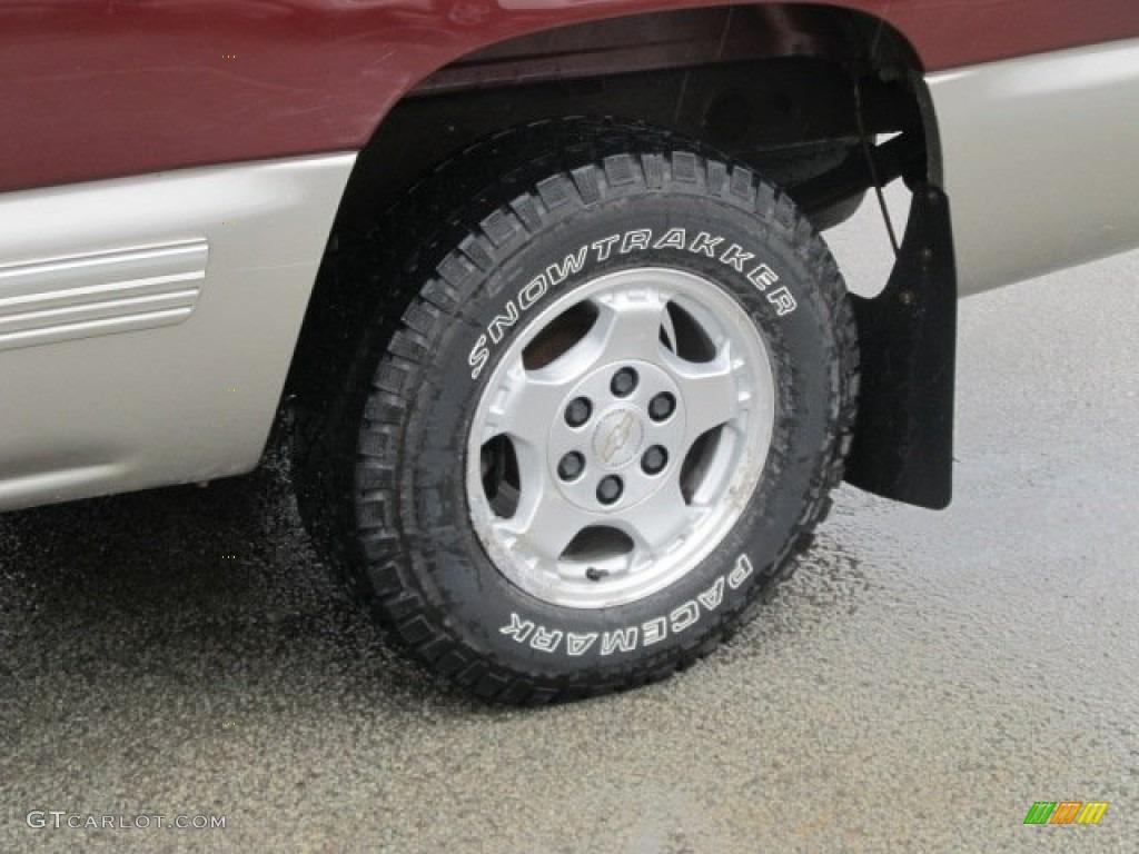 2002 Chevrolet Silverado 1500 LS Regular Cab Wheel Photo #66159830