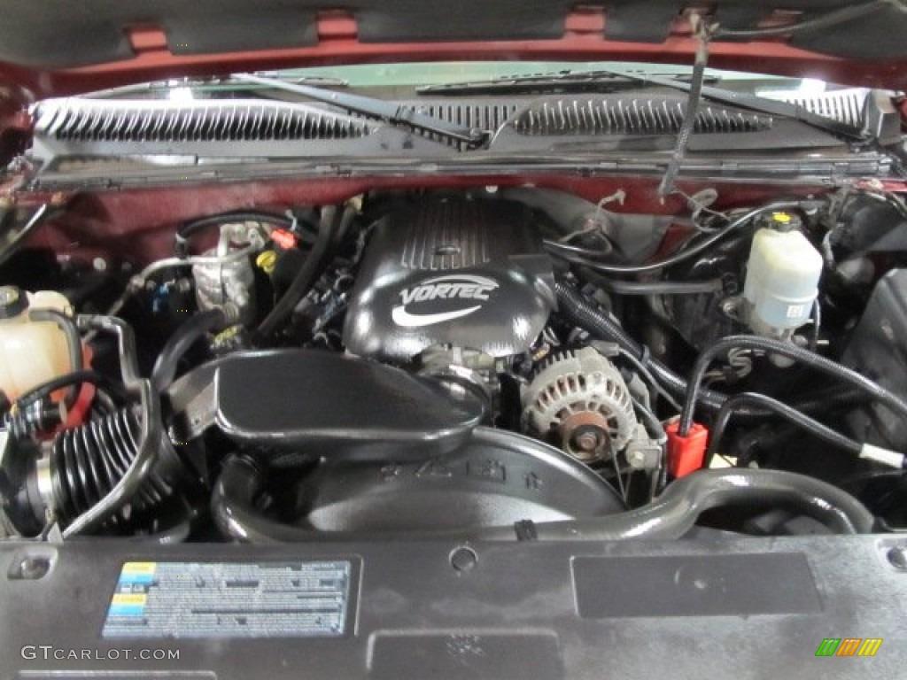 2002 chevrolet silverado 1500 ls regular cab 5 3 liter ohv 16 valve vortec v8 engine photo. Black Bedroom Furniture Sets. Home Design Ideas