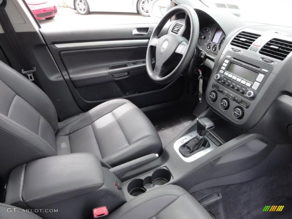 Anthracite interior 2005 volkswagen jetta 2 5 sedan photo 66161945