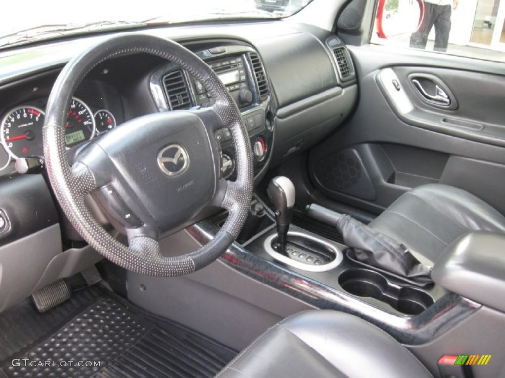medium pebble beige interior 2006 mazda tribute s 4wd. Black Bedroom Furniture Sets. Home Design Ideas