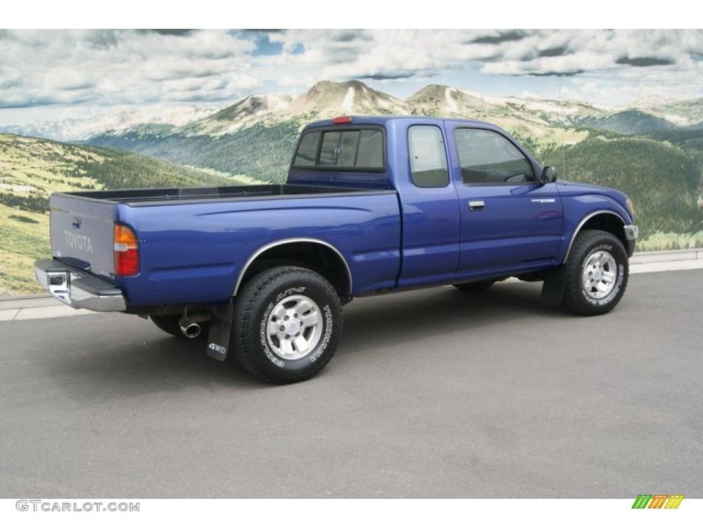 Paradise blue metallic 1997 toyota tacoma v6 extended cab - 1997 toyota tacoma interior parts ...