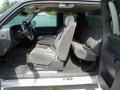 Dark Charcoal Interior Photo for 2005 Chevrolet Silverado 1500 #66170207