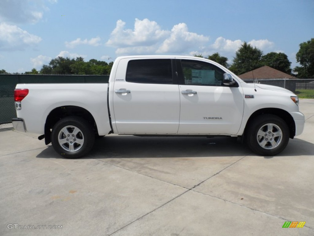 Super white 2012 toyota tundra limited crewmax exterior photo 66172706 gtcarlot com