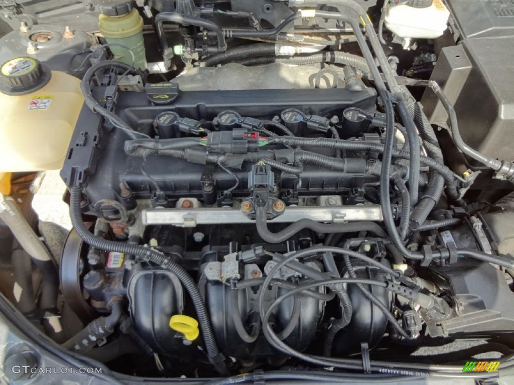 2005 ford focus zx4 st sedan 2 3 liter dohc 16 valve duratec 4 cylinder engine